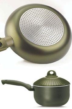 Pensofal 07PEN8726 Terre di Siena Bio-Ceramix Nonstick Baby PastaSi Pasta Cooker with Lid, 1-1/2-Quart