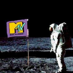 MTV logo from the 80's - back when they played music.