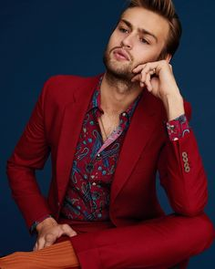 """3,549 Likes, 31 Comments - Paul Smith (@paulsmithdesign) on Instagram: """"#DouglasBooth demonstrating the timeless quality of a #PaulSmith paisley print in…"""""""