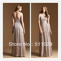 Best value Taupe Bridesmaid Dress – Great deals on Taupe Bridesmaid Dress from global Taupe Bridesmaid Dress sellers Brown Bridesmaid Dresses, Prom Dresses, Formal Dresses, Keyword Trends, Wedding Events, Weddings, Great Deals, Bodice, Chiffon