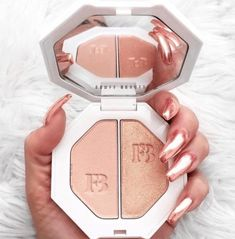 Fenty Beauty fans are trying to match their nails to their Rihanna makeup packaging. Click above for more Fenty Beauty nail art tributes.
