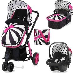 Cosatto Giggle 2 Hold 3in1 Travel System with Car Seat -Go Lightly 2(New)