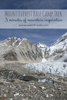 Mount Everest Base Camp Trek - the movie! In three minutes we'll show the highlights of our trek to the base of the tallest mountain on the planet. Check our blog for some mountain inspiration!