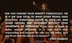 Tony Robbins telling you how to do it!