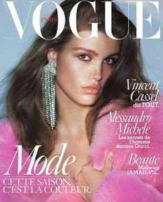 Luna Bijl, Vogue Magazine [France] (August 2016)
