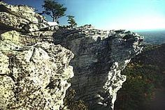 The view at Hanging Rock State Park! Hike the trails of Hanging Rock State Park and let nature put life's hectic pace in perspective. Nestled in the hills is a cool mountain lake that beckons to swimmers and fishermen. Picnic areas and campgrounds lend themselves to time spent with family and friends.