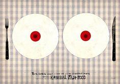 Cannibal Fastfood,  polski plakat filmowy