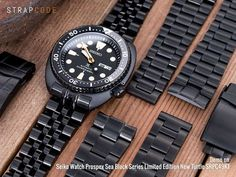 Black is still the new black - Bracelets for Seiko Black new Turtle SRPB49K1 Head on strapcode.wordpress.com for more #strapcode #MiLTAT #Iwantstrapcode