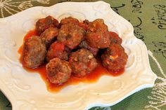 Meatballs show up on our dinner table almost weekly. The kids think I make them so often because they love them so much. The truth is that I make them so often because they're so easy. This meatb...