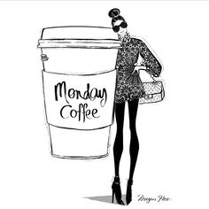 Yep, that's the size we need! #monday #coffee #mornings #regram @meganhessillustration by businesschicks http://ift.tt/1nHR6Gc