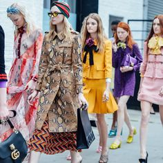 Gucci taking it back to the street for their Cruise 2016 collection