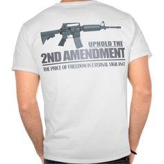 Uphold the 2nd Amendment Apparel T Shirt, Hoodie Sweatshirt