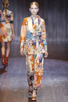 Gucci Spring 2015 RTW – Runway – Vogue, perfect for lounging around, as comfy as pajamas