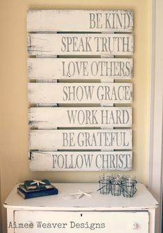 I love this! I'll make one to hang up in the living room:)