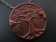 Tree Of Life (Bronze). Material: Polymer Clay