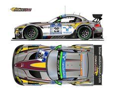 BMW Z4 GT3 MARCVDS Racing