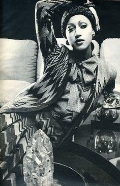 1972 - Pat Cleveland in Yves Saint Laurent