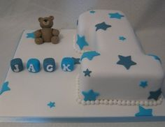 Baby Boy Number 1 Cake By SamHarrison on CakeCentral.com : https://www.facebook.com/pages/The-Sugarplum-Bakehouse/147584558644564