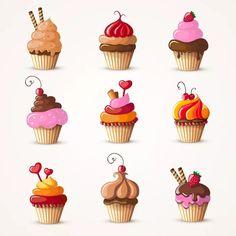 клипарт пирожное: 10 тыс изображений найдено в Яндекс.Картинках