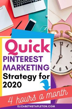 Pinterest can be a great way to get your blog content out there, but it can also be very involved. When you're a blogger you already have so much to do, that it can be difficult to add one more thing to the list. Check out this post to build your Pinterest Marketing System in just a couple hours a month.