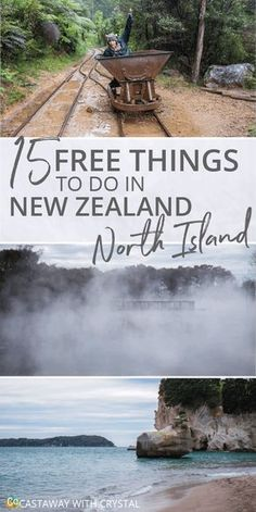 15 FREE and awesome things to do in the North Island of New Zealand | Want to do something different? Try out these free things you can do in New Zealand | Free things to do in Cape Reinga, Northland, Auckland, The Coromandel Peninsula, Rotorua, Hamilton and Wellington #NewZealand #NorthIsland #Free via @CastawayCrystal