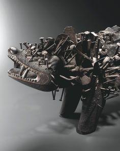FETISH KOZO KONGO Congo, British Museum, All Black Sneakers, Sci Fi, Philippe, Michel, Collection, Paris, Science Fiction