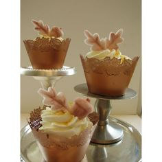 25 Fabulous Autumn Fall Cupcakes | Party Cupcake Ideas