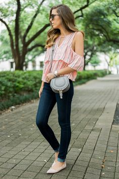 Cold-Shoulder Top • For the Love of Fancy