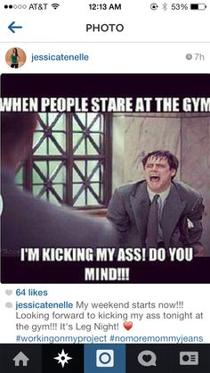 Workout Memes, Gym Memes, Funny Workout, Girl Workout, Gym Frases, Gym Humour, Exercise Humor, Exercise Quotes, Look Man