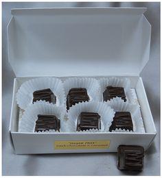 Sasquatch Sugar Free Chocolate Caramels (dk)
