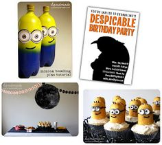 Pure Joy Events: Tutorial Tuesday: DIY Despicable Me Party