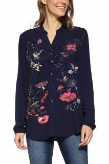 Desigual Shirt Udap - House of Fraser Womens Fashion Online, Ideias Fashion, Women Wear, Tunic Tops, Blouse, Long Sleeve, Sleeves, Stuff To Buy, Shopping