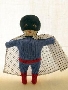 superhero dolls! cool idea