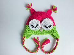 Sleepy owl hat - made with love by designanita.se