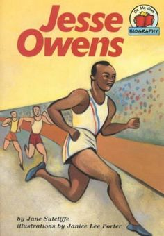 Describes the life of track-and-field athlete Jesse Owens, from his childhood in Alabama and his family's move to Cleveland to his athletic career which culminated in his winning four gold medals at t