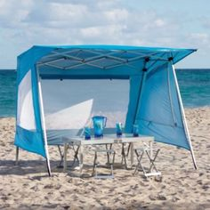Aluminum Shade Shelter - this is cool!