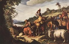 Abraham on the Way to Canaan. Pieter Lastman ca. 1583 – 1633