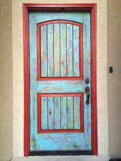 My Funky Front Door