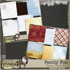 Family Fun - Paper Pack #1