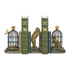 Trading places bookends