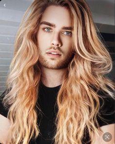 Pretty Men, Pretty Face, Types Of Eyes, Man Bun, Eye Make, Long Hairstyles, Hot Boys, Beautiful Eyes, Blondes