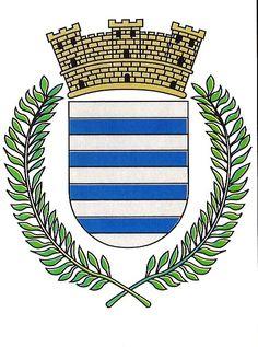 Escudo Oficial de Catano, Puerto Rico | el escudo de catano consta de neuve franjas horizontales del mismo ...