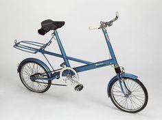 'Moulton Stowaway' bicycle, Alex Moulton, 1964.