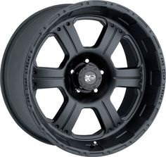 Pro Comp Series 7089 1-Piece Cast-Blast™ Alloy Wheel for Jeep® Vehicles with 5x4.5  Bolt Pattern