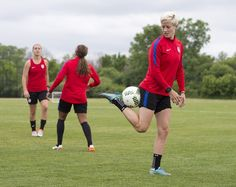 Gallery: WNT Ready To Face Fellow Olympic Participant South Africa - U.S. Soccer