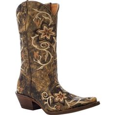 Justin Boots L7203 White Camo 8 5 B Bootin Country B Boots Western Boots