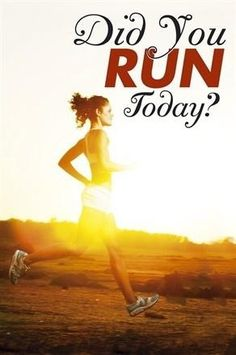 Did You Run Today? yep 7 miles.