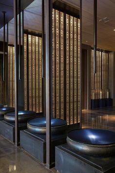 Modern architecture | Villa design | hotel design | wellness design | bathroom design bycocoon.com | Dutch Designer Brand COCOON || The East Hotel, HangZhou