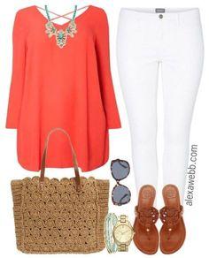 Plus Size Outfit Idea - Plus Size Fashion - alexawebb.com