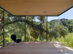 Pure transparency at Tea Houses in Silicon Valley, California by  Swatt | Miers Architects